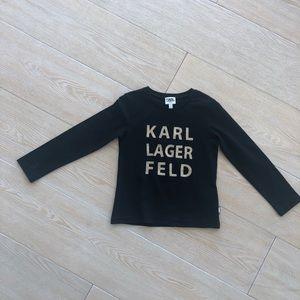 Karl LagerFeld girls shirt